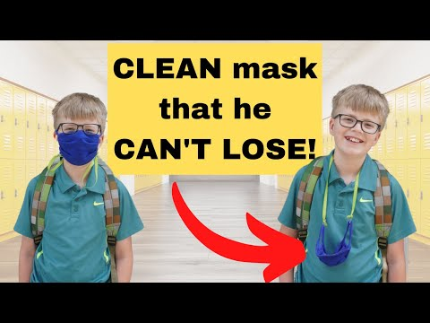 DIY Face Mask Chain - Awesome Mom Hack!