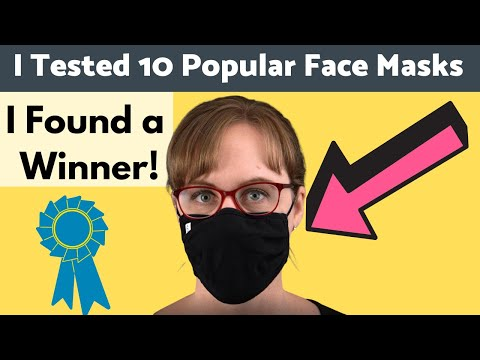 BEST Cloth Face Masks: TESTED, Rated, and Compared!