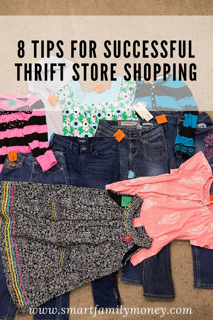 8 Tips for Successful Thrift Store Shopping