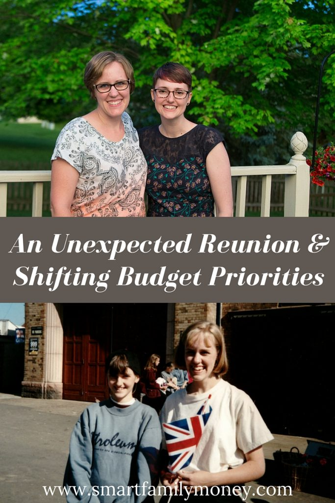 An Unexpected Reunion & Shifting Budget Priorities