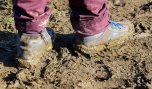Mud happens! Be prepared!