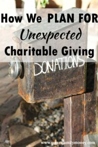 This is a great way to bring more joy to giving!