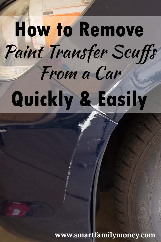 how to remove paint transfer scuffs from a car quickly easily smart family money. Black Bedroom Furniture Sets. Home Design Ideas