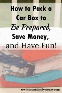 This is great! Our new car box has us so much more prepared for being on the road with kids!