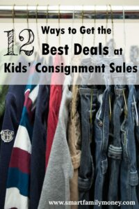 Love this! This post helped me save a ton on my kids' clothes!