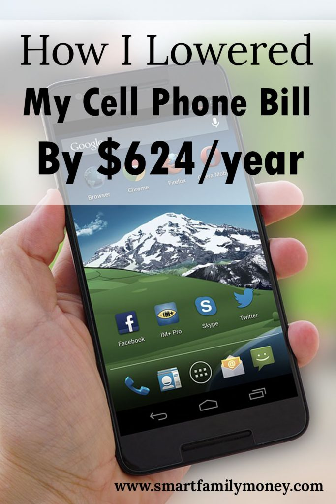 How I Lowered My Wireless Bill by $624/year