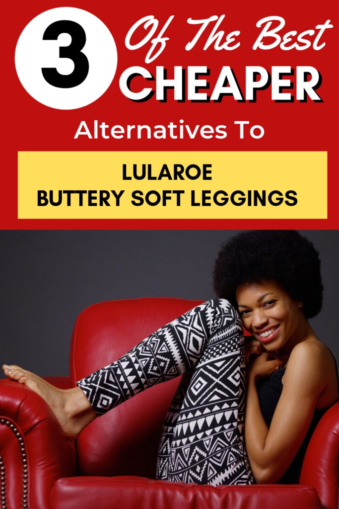 Do you love Lularoe leggings but are trying to save money? You can have awesome buttery soft leggings for half the price of lularoe! #savemoney #frugal #frugalfashion #lularoe