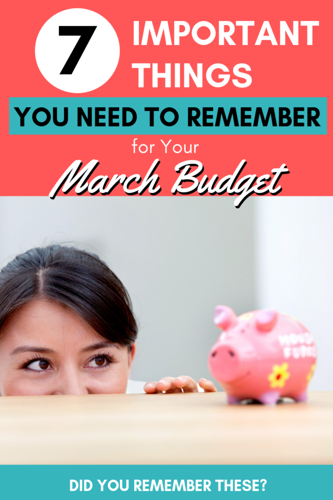 March budget