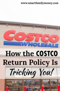 So many good points about the Costco Return Policy! I never thought of it this way!