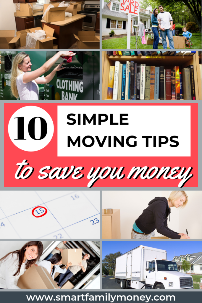 10 Simple Moving Tips to Save You Money