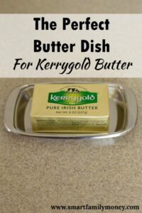 I've been searching everywhere for a butter dish for Kerrygold butter! I'm so glad to have a good recommendation.