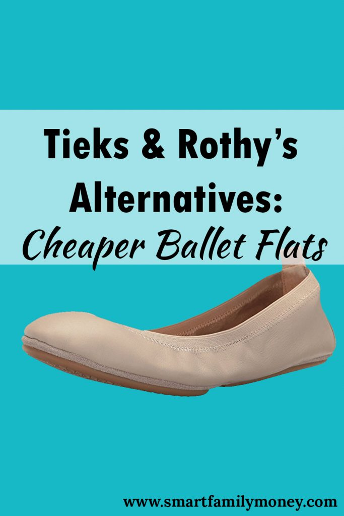 Tieks & Rothy's Alternatives: Cheaper Ballet Flats