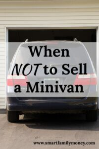 I loved this post to help me know when to sell my minivan. It's hard to decide when to sell a car. I want to make the best decision for my budget and financial plan.