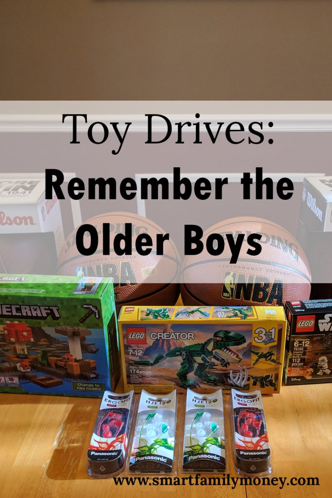 Toy Drives: Remember the Older Boys
