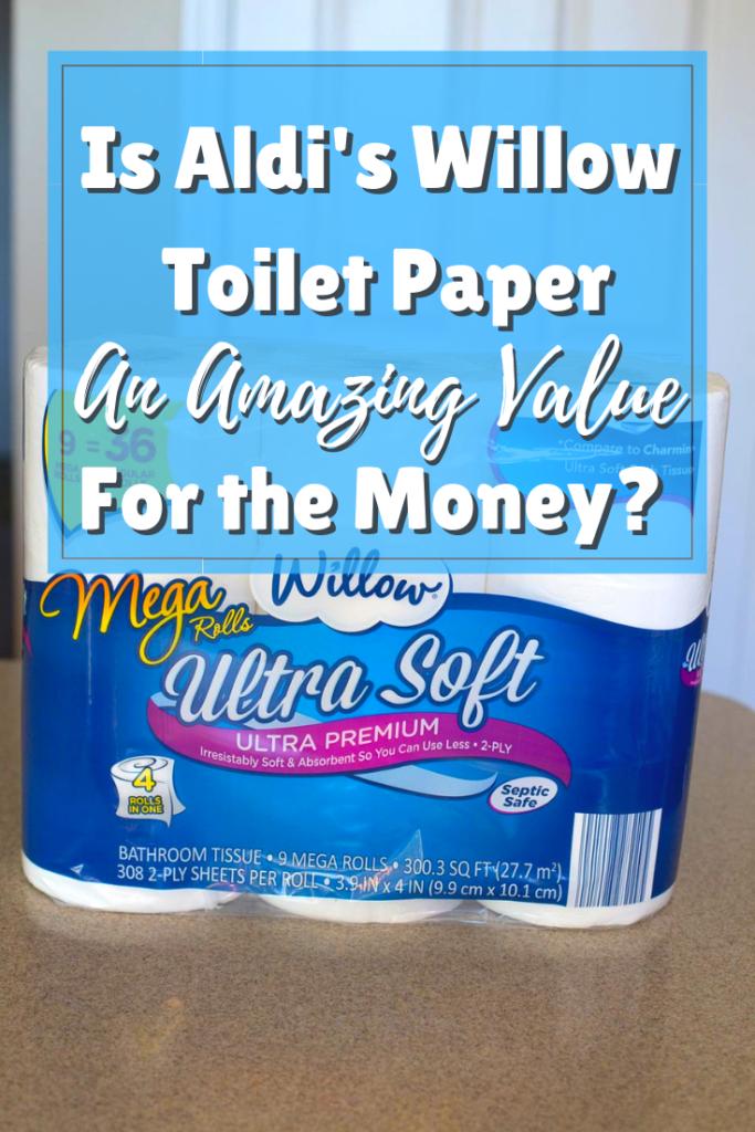 Review Aldi Willow Toilet Paper