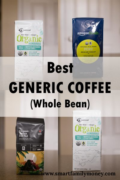 Review: Best Generic Coffee (Whole Bean)