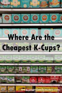 K cups cheap