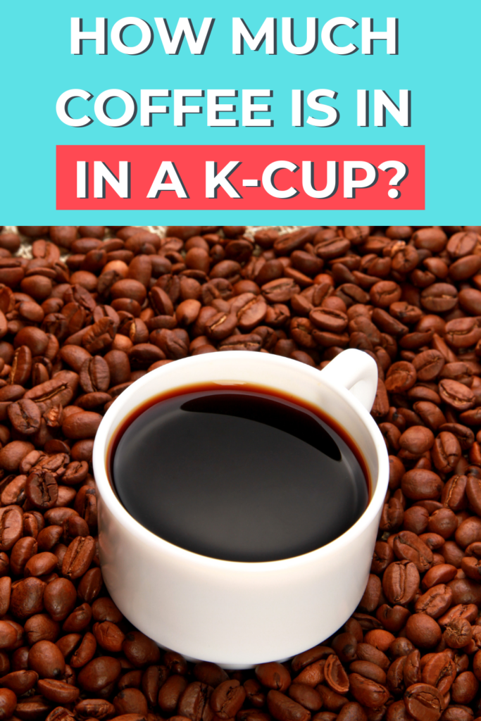 How much coffee is in a k-cup? How does the cost of a k-cup compare to drip coffee? Check out the answers! #savemoney #frugal #coffee