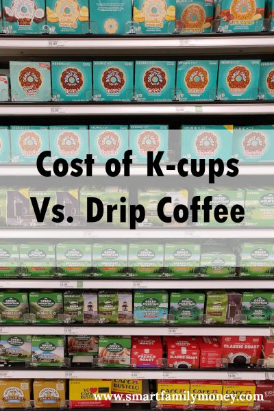 Cost of K-cup Vs Drip Coffee