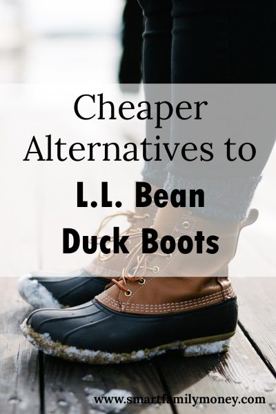 Cheaper Alternatives to Bean Boots