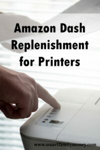 Amazon Dash Replenishment for Printers