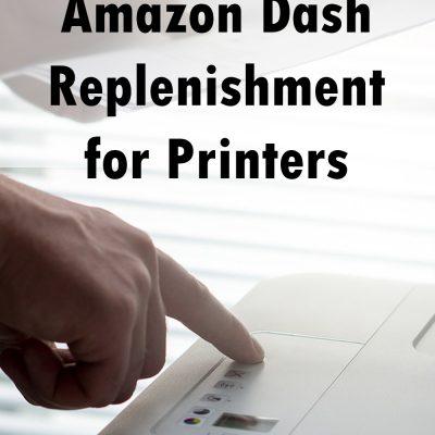 Amazon Dash Replenishment for Printers