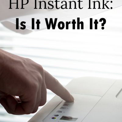 Is HP Instant Ink Worth It?