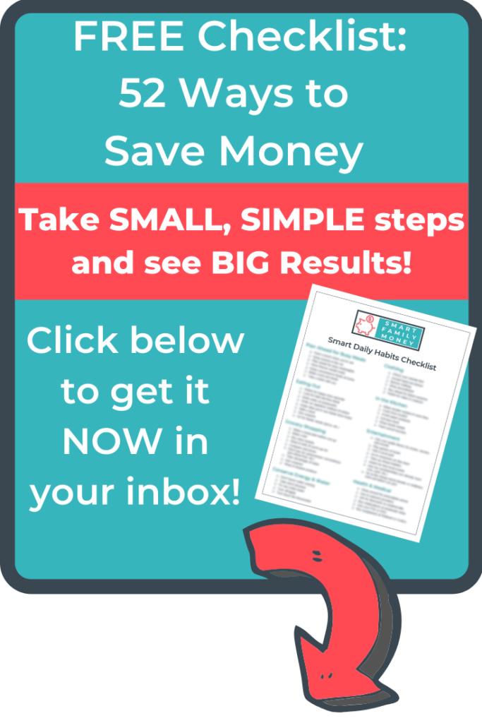 Get Your Smart Money Checklist