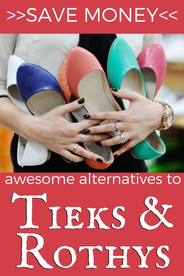 Cheaper Tieks and Rothys