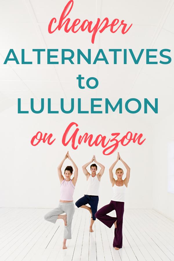 Cheaper Alternatives Lululemon on Amazon