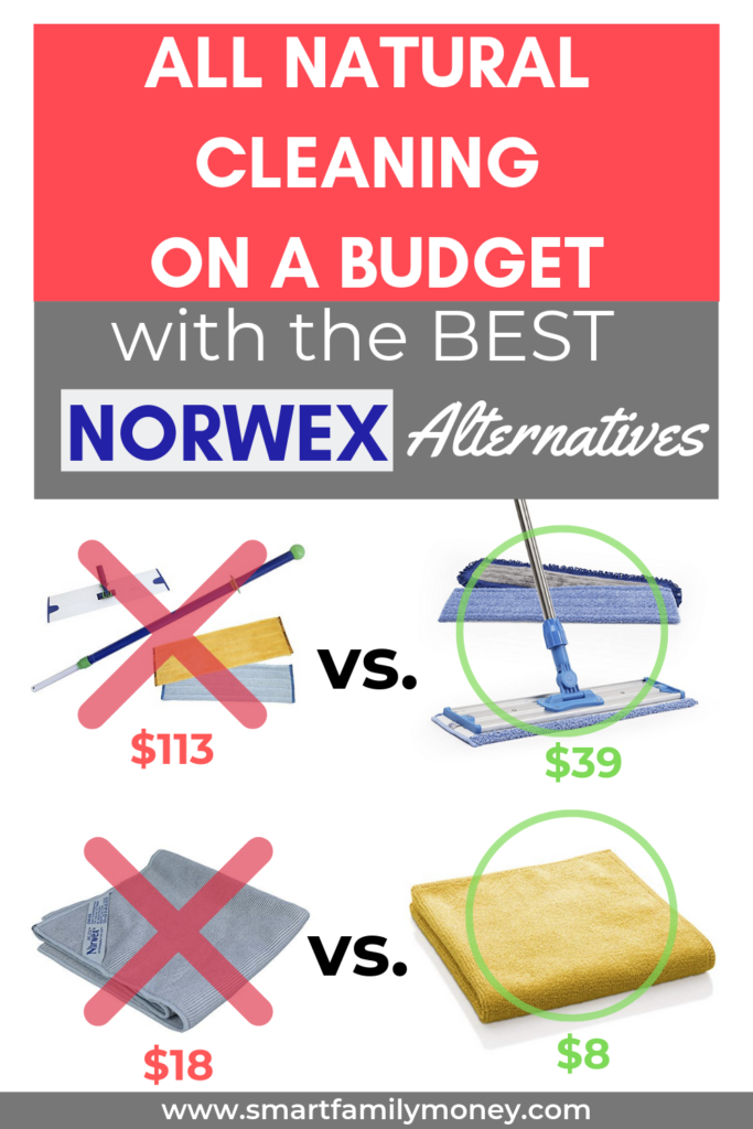 All natural cleaning on a budget with the best Norwex Alternatives