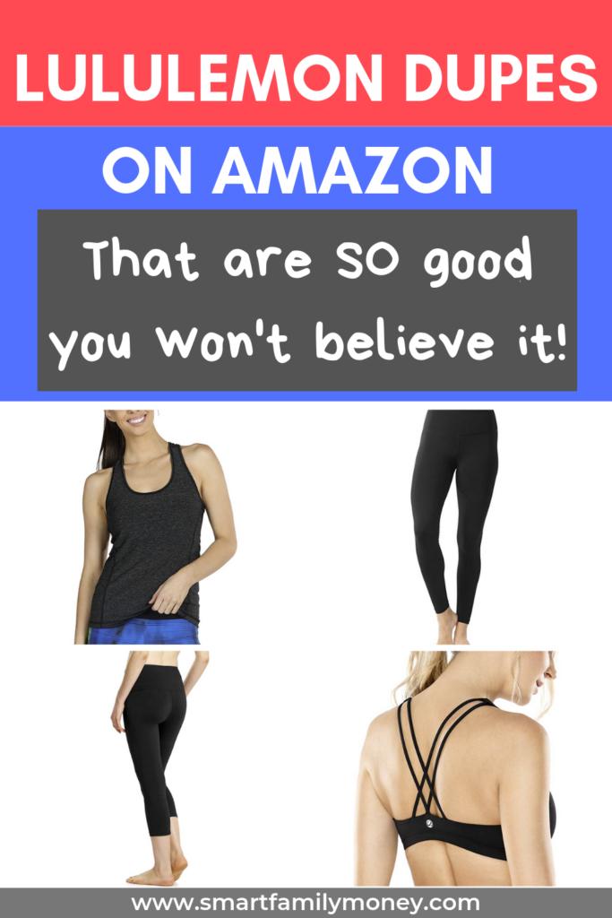 Lululemon dupes on Amazon that are so good you won't believe it