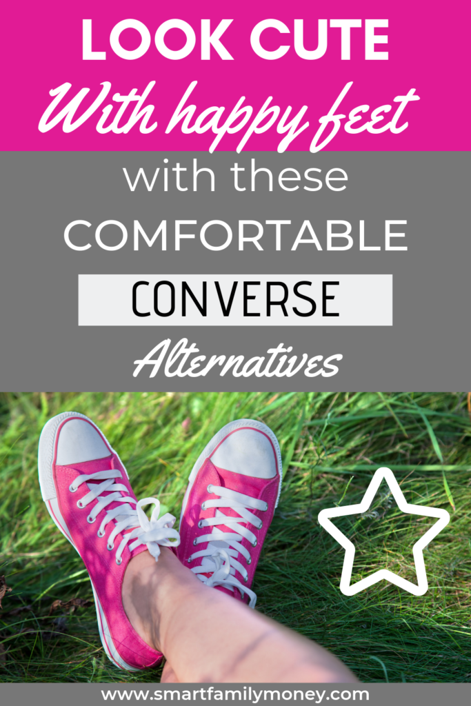 Look cute with happy feet with these comfortable Converse Alternatives