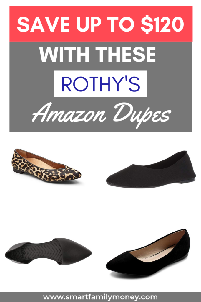 Save up to $120 with these Rothy's Amazon Dupes