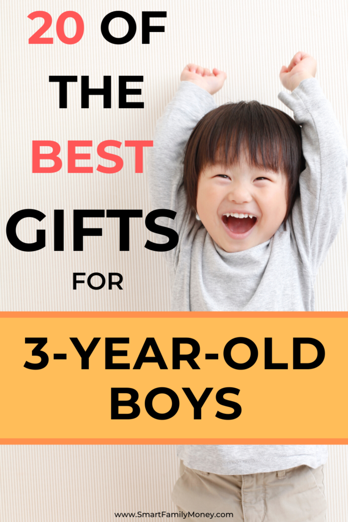 20 of the best gifts for 3-year-old boys