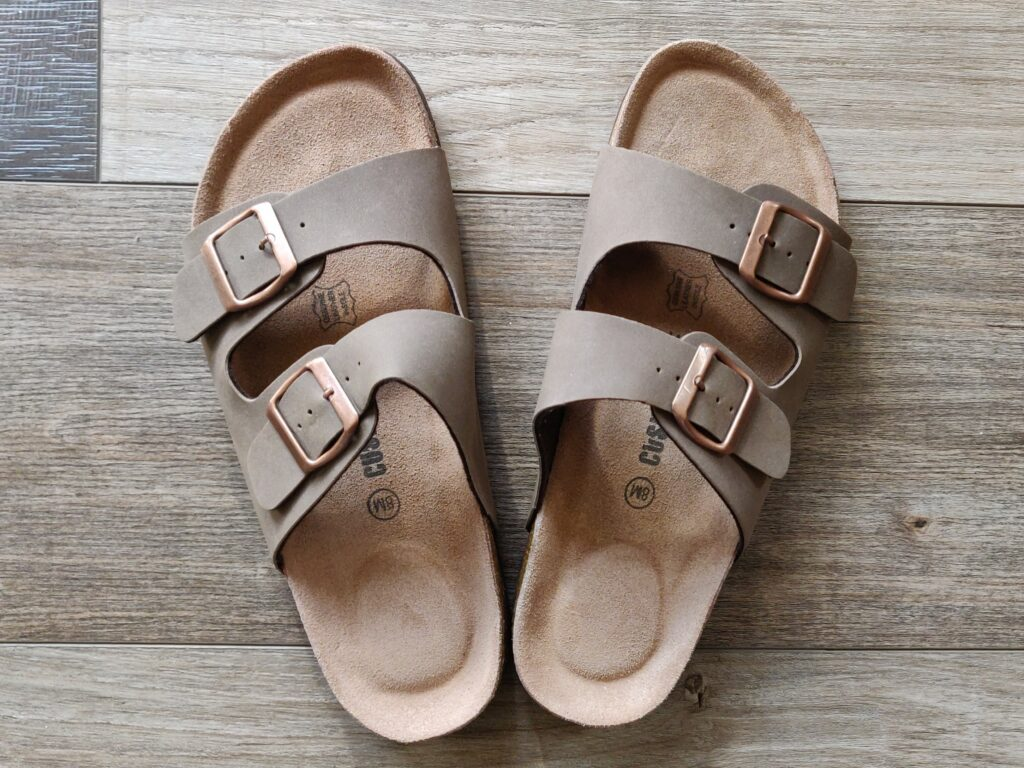 Cushionaire Cork Sandals