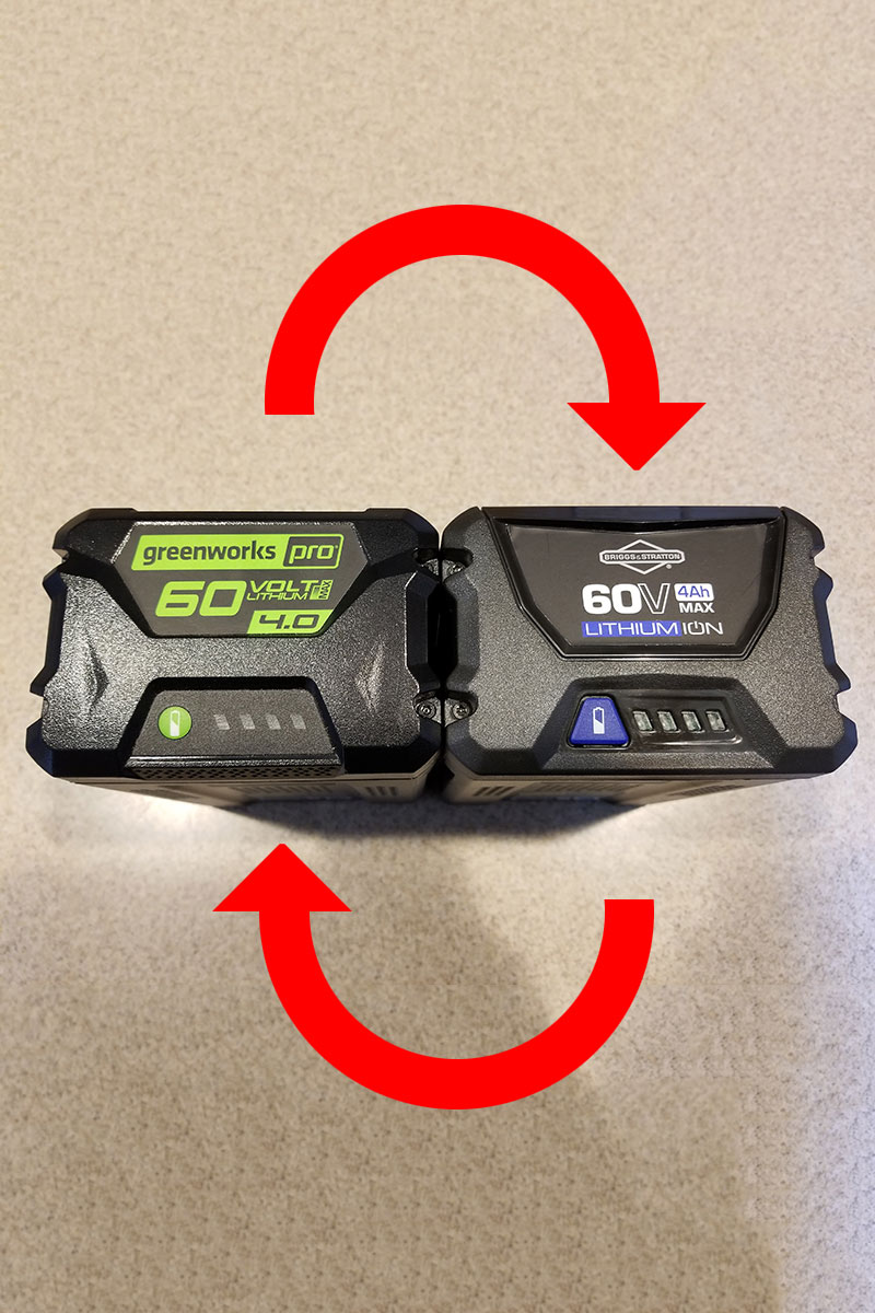 Are Greenworks and Kobalt Batteries Interchangeable?