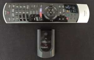 Winix 5500-2 remote (with my TV remote)