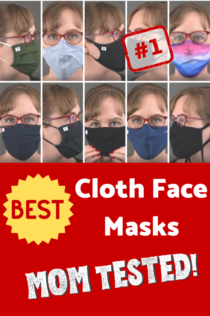 Best cloth face masks. Mom tested.
